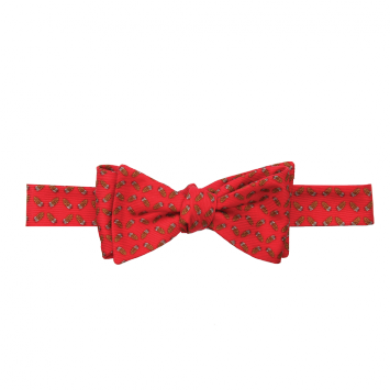 Wm. Lamb & Son - Quail Feather Bow - Red